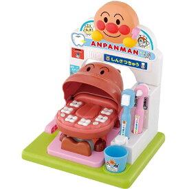 バンダイ 歯がくるりんでピッカピカ! アンパンマンおしゃべりはいしゃさん