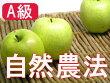 ★化学農薬・化学肥料不使用★【A級品】竹嶋さんの自然農法りんご王林<5kg>※無袋栽培
