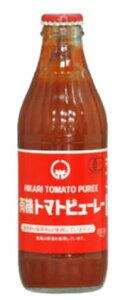 ■【ムソー】(ヒカリ)有機トマトピューレー320g