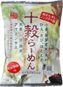 ■【ムソー】(桜 井)十穀らーめん・しょうゆ味88g