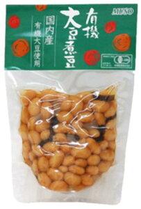 ■【ムソー】有機大豆煮豆145g