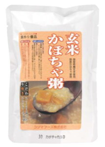 ■【ムソー】(コジマ)玄米かぼちゃ粥200g