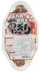 ■【ムソー】(コジマ)有機発芽玄米おにぎり・小豆90g×2