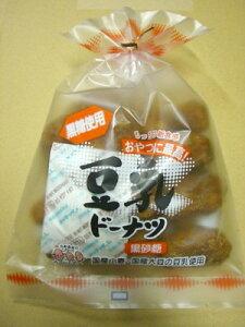 ■ムソー)豆乳どーなっつ(黒砂糖) 170g※国産小麦粉使用