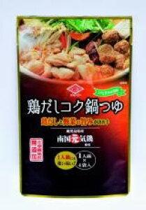 ■【ムソー】鶏だしコク鍋つゆ 30ml×4袋※冬季限定品
