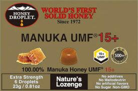 ●【オーサワ】ハニードロップレットUMF15+マヌカ 23g(6粒)