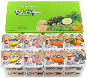 ◆恒食)フルーツ トコゼリーギフト24個入り 130g×24※お届けまでお時間がかかる場合があります。