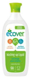 ●【オーサワ】エコベール 食器用洗剤レモン 450ml※ボトルデザインの変更あり