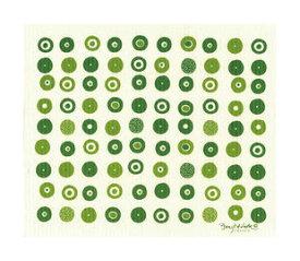 ●【オーサワ】e.スポンジワイプ(キャンディ グリーン)水切り1枚
