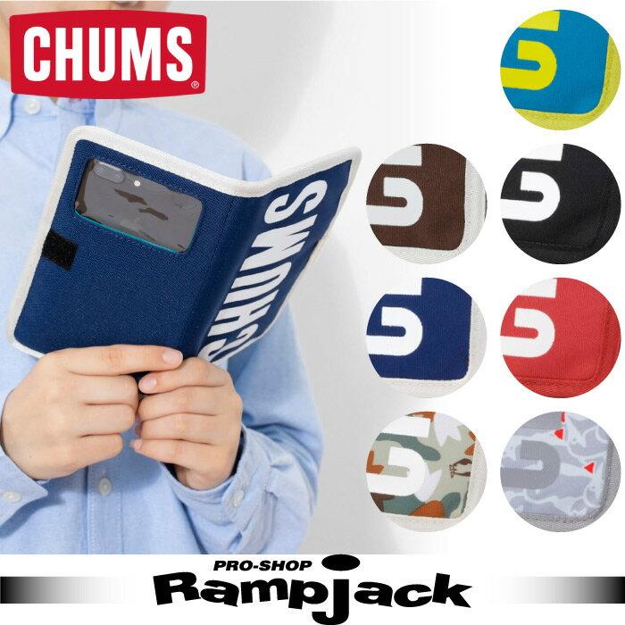 CHUMS チャムス Eco CHUMS Booklet Mobile Case エコチャムスブックレットモバイルケース スマートフォンケース 2017年秋冬モデル CH60-2426