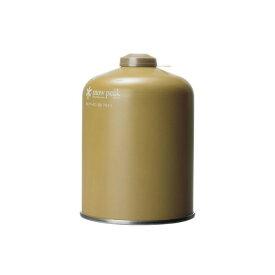 snow peak スノーピーク 金缶シリーズ ギガパワーガス500プロイソ OD缶 燃料 キャンプ GP-500GR