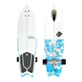 Street Surfing ストリートサーフィング SHARK ATTACK シャークアタック 36インチ PSYCHO BLUE スケートボード サーフスケート 3輪 トライウィール