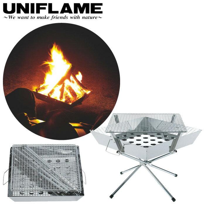 UNIFLAME ユニフレーム ファイアグリル バーベキューコンロ 焚き火台 折りたたみ式 683040