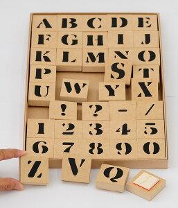 ステンシル アルファベットスタンプ セットデザインアルファベットスタンプサイズ:40×40mm文字サイズ:約25mmゴム印/スタンプ/ハンコ/判子/はんこ/印鑑英語スタンプセット/英字文字/【プレ