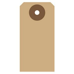 タグセットクラフト19-2500 30枚入り×5個セットササガワ 文房具