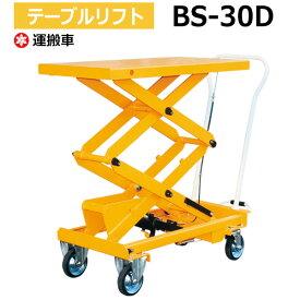 テーブルリフト BS-30D (耐荷重300kg) リフター テーブルリフター 昇降機 油圧リフト 油圧リフター ナンシン 運搬 【送料無料 車上渡し品 返品不可】【個人宅配送不可】