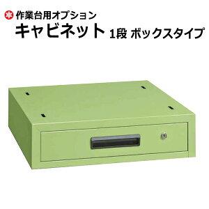 【クーポンあり】SAKAE 作業台 キャビネット ボックスタイプ グリーン SK-NKL-11