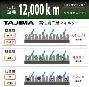 メンテ高性能カーエアコンフィルターホンダライフ【TMCF-H05】*小型送料