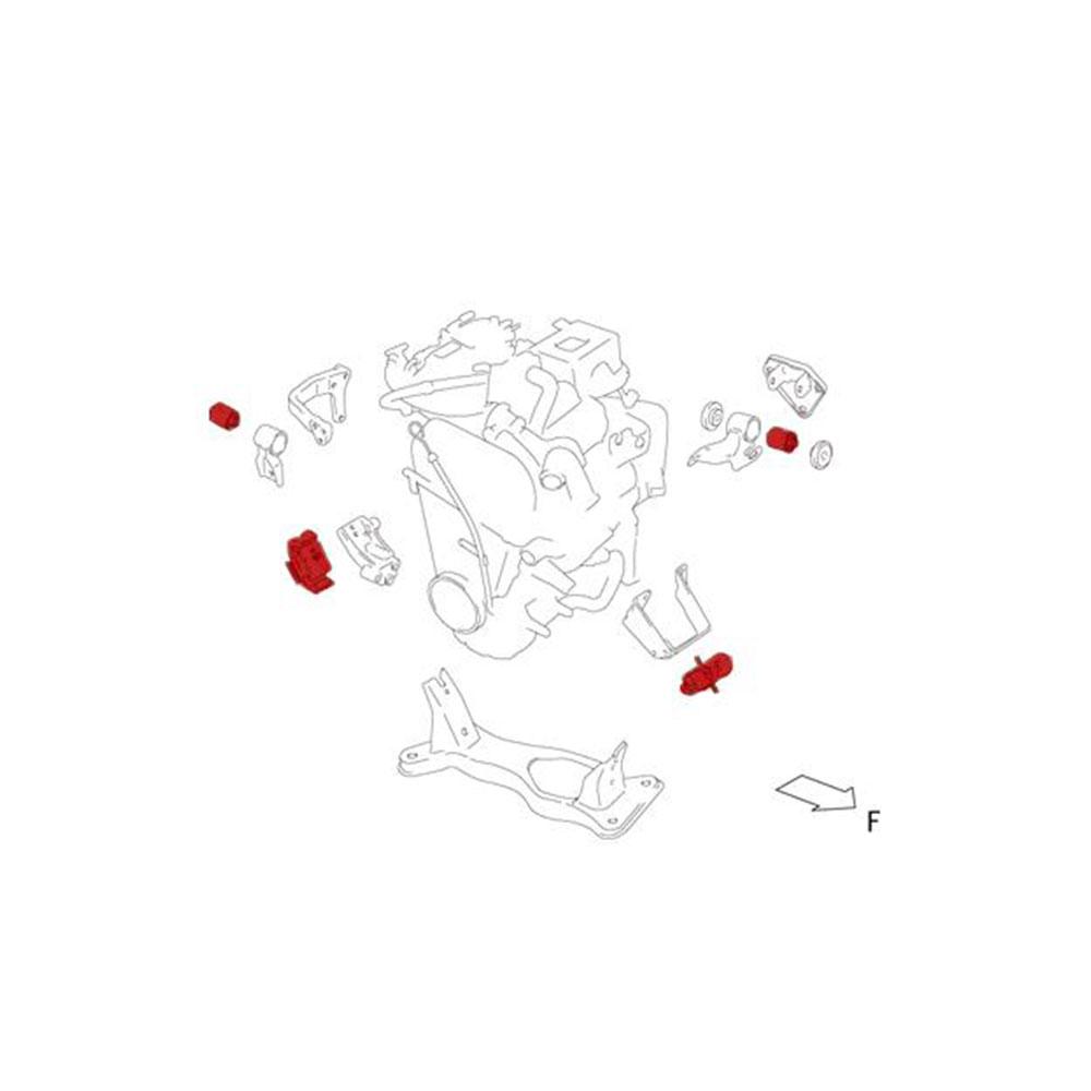 ブッシュ・マウント【エンジンマウント】キャラPG6SS*送料・代引手数料無料!【647500-2900M】