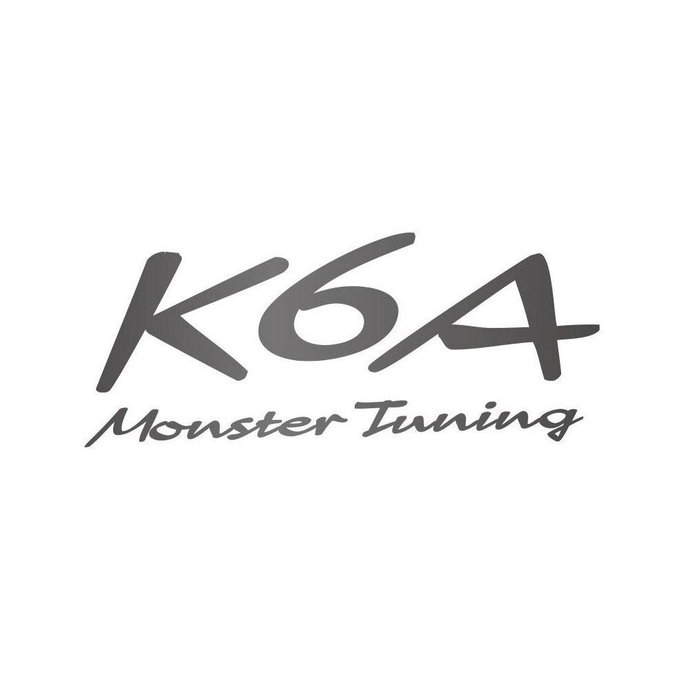 ジムニー ステッカー JB23W 【K6A Monster Tuning ステッカー】ジムニー/カプチーノ/アルトワークス*Monster Sport*モンスタースポーツ ステッカー【896123-0000M】