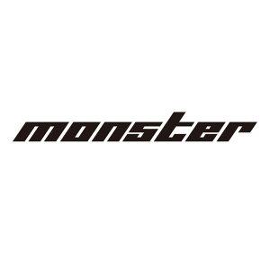 MONSTERステッカー【切り文字ステッカー(黒大)】745×90【896134-0000M】