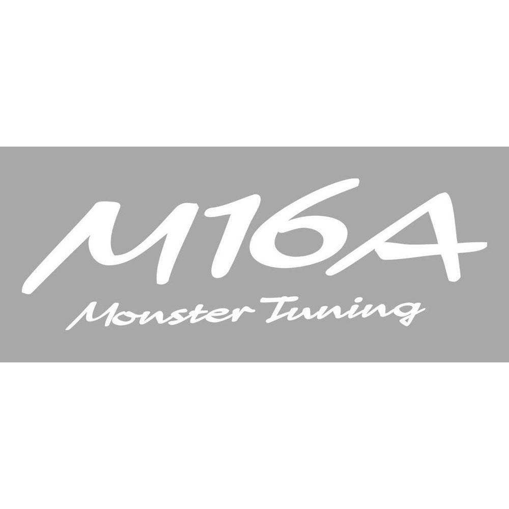 M16A Monster Tuning ステッカー*Monster Sport*スイフト/ジムニー/ランサーエボリューション/86*モンスタースポーツ ステッカー【896160-0000M】