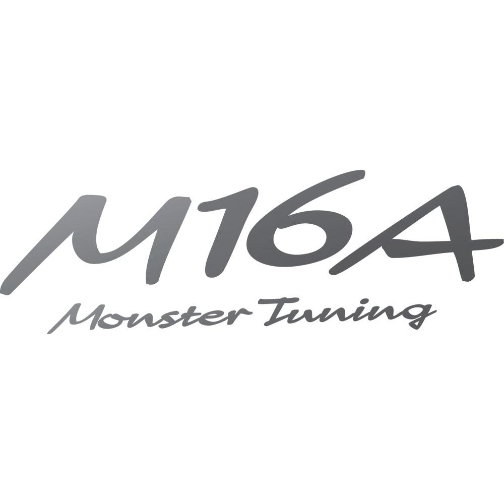 M16A Monster Tuning ステッカー*Monster Sport*スイフト/ジムニー/ランサーエボリューション/86*モンスタースポーツ ステッカー【896161-0000M】