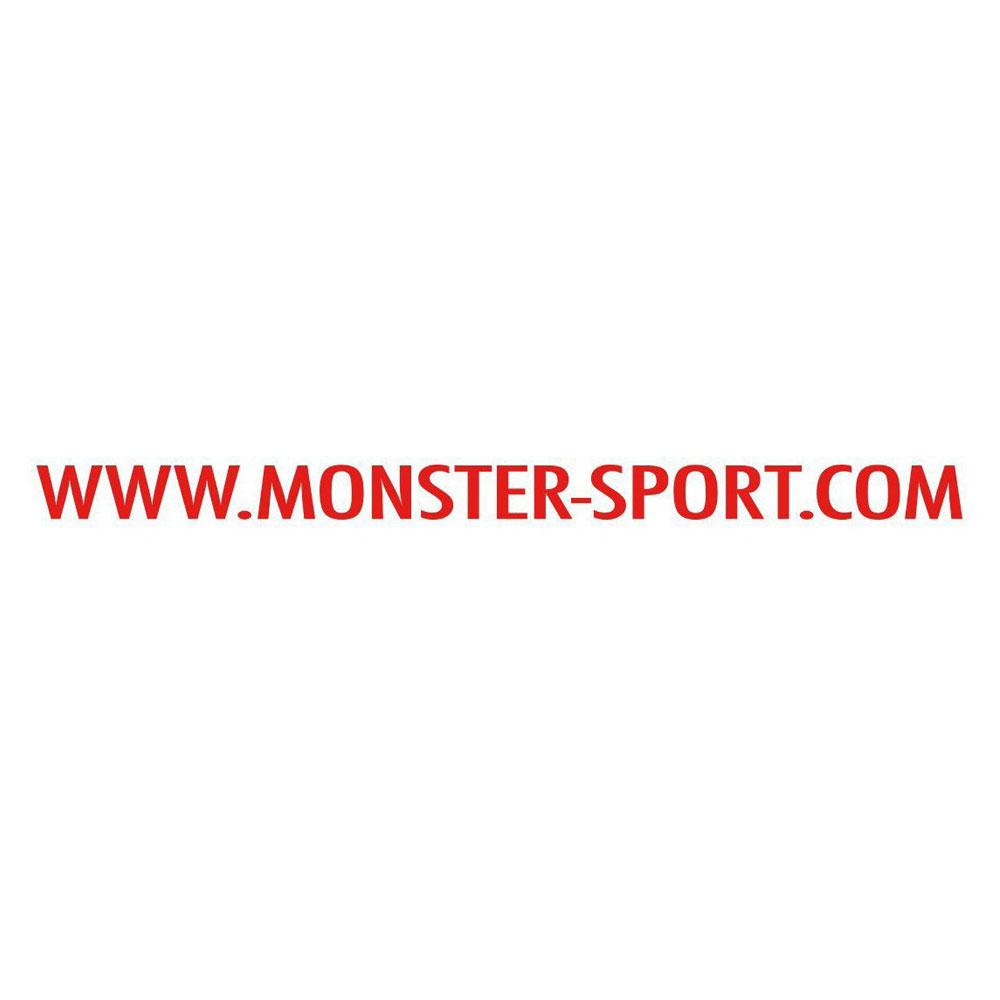 モンスタースポーツ ステッカー*Monster Sport*スイフト/ジムニー/ランサーエボリューション/86【MSドットコム ステッカー(レッド)】500×27【ZZZB45】