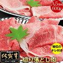 【送料無料】佐賀牛[A5]訳あり 切り落し肉【600g】(300g×2)プレゼント(タレ1本)付き◎