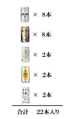 ビール&ハイボール22本3番ボトル
