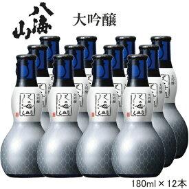 2020年8月リニューアル【 日本酒 】『 八海山 大吟醸 180mlひょうたん瓶(12入)1箱セット 』