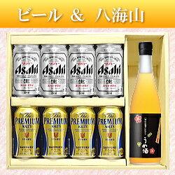 【ビール&日本酒ギフトセット】八海山うめ酒720ml