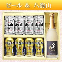 【ビール&日本酒ギフトセット】八海山にごり発泡酒720ml