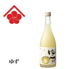【リキュール】【果実酒】『 梅乃宿 ゆず酒 720ml 』奈良県 梅乃宿酒造女性に大人気!卍