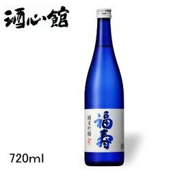 【日本酒】福寿ブルーボトル純米吟醸ラベル画像