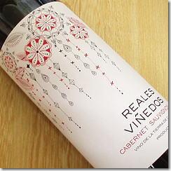 【スペインワイン】赤ワイン・ミディアムボディ『 レアレス・ビニェードス・カベルネ・ソービニヨン 赤 』セントロ地区産SSspecial03mar13_food