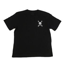 ロエン roen メンズ レディース ファッション Tシャツ カットソー ブラック 黒 半袖 プリント ロゴ スカル 丸首 ストリート カジュアル ギフト プレゼント