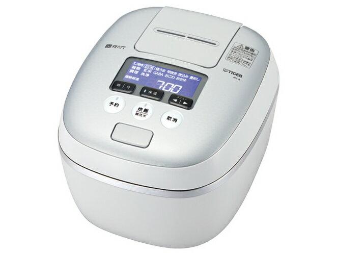 【新品】【送料無料】タイガー 炊飯器 5.5合 圧力 IH ホワイトグレー 炊きたて 炊飯 ジャー JPC-A100-WH Tiger