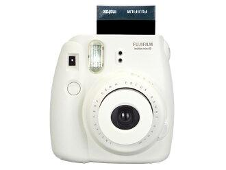 FUJIFILM インスタントカメラチェキ instax mini 8 white INS MINI 8 WHITE