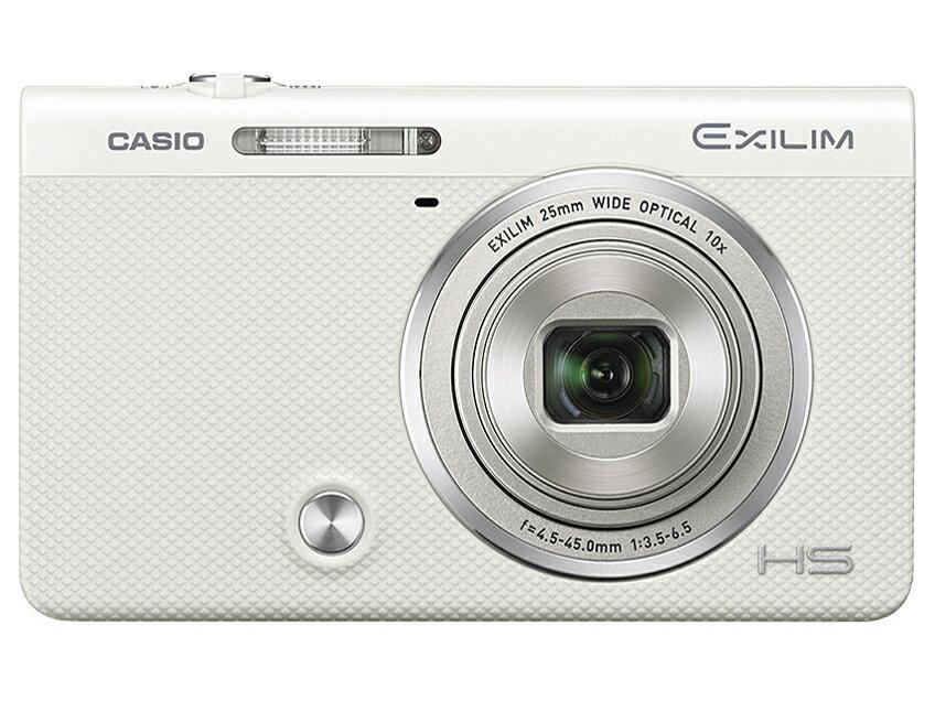 【新品】【送料無料】CASIO デジタルカメラ EXILIM EX-ZR70WE 「自分撮りチルト液晶」 「メイクアップ&セルフィーアート」 EXZR70 ホワイト