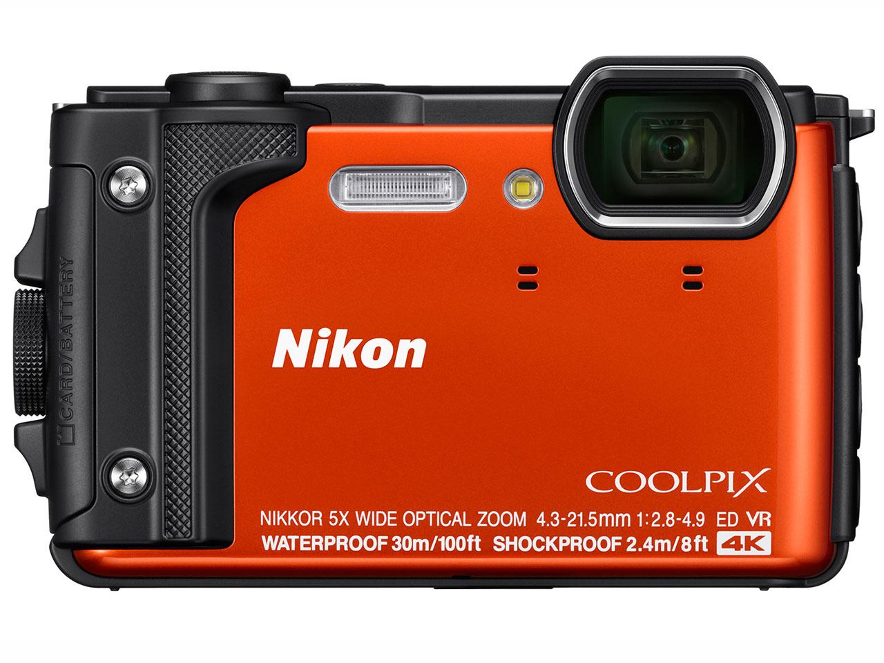 Nikon デジタルカメラ COOLPIX W300 OR クールピクス オレンジ 防水 【新品】【送料無料】