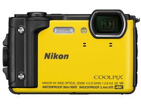 Nikon デジタルカメラ COOLPIX W300 YW クールピクス イエロー 防水 【新品】【送料無料】