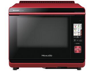 シャープウォーターオーブンヘルシオ (HEALSIO) 30L two steps cooking red AX-XW300-R for wireless LAN