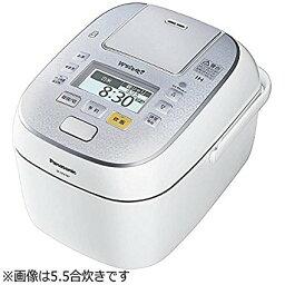 隨着松下1升電飯煲壓力IH式W跳舞,煮雪水晶白SR-SPX187-W