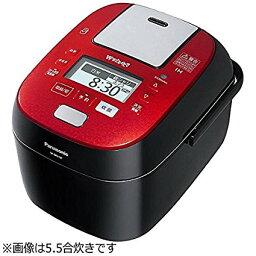 隨着松下1升電飯煲壓力IH式W跳舞,煮紅色黑色SR-SPX187-RK