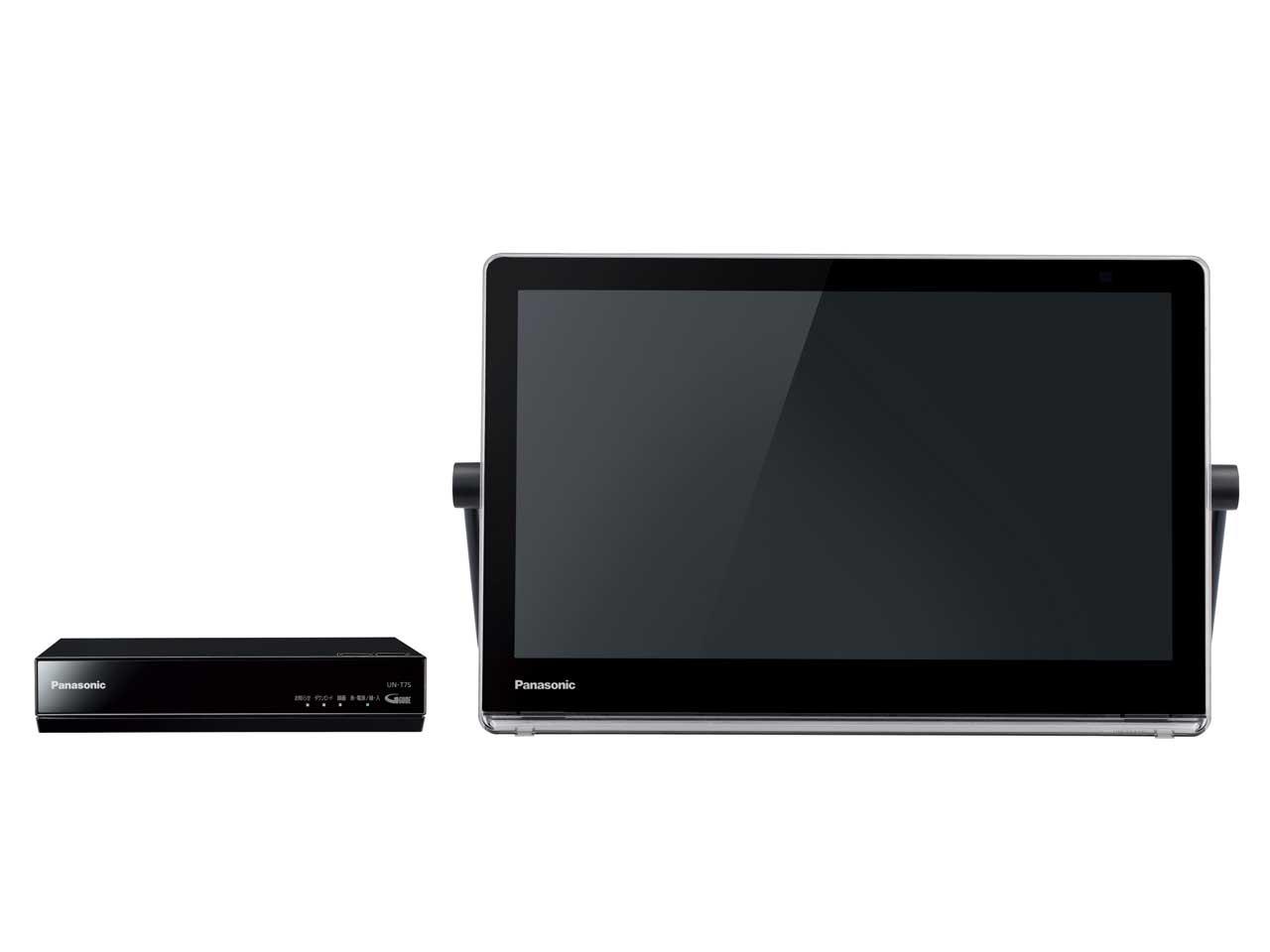 【新品】【送料無料】パナソニック 10V型 液晶 テレビ プライベート・ビエラ UN-10T7-K ポータブル 防水タイプ 500GB HDDレコーダー付 ブラック