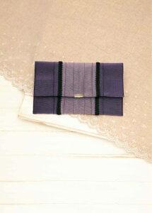 たたみテープふくさポーチ [T-35 (紫)] 【パナミ手芸メーカー直販 タカギ繊維】