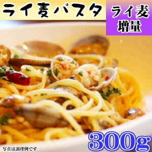 【送料無料】ライ麦 パスタ 300g 麺 乾麺 ライ麦増量タイプ 製麺所より直接お届け