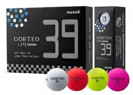 muziik LCORTEO LITE 39 GOLF BALL ゴルフボール コルテオライト39【送料込】