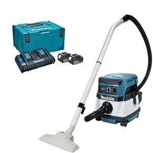 マキタ VC860DZ+A-61226 ハイブリッド集塵機 乾湿両用 集塵容量8L パワーソースキット1セット